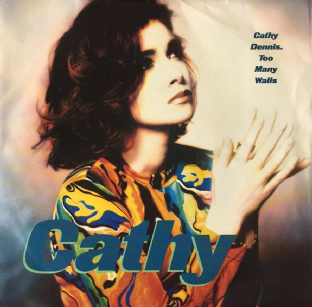 "Cathy Dennis - Too Many Walls (7"") (G+/VG-)"